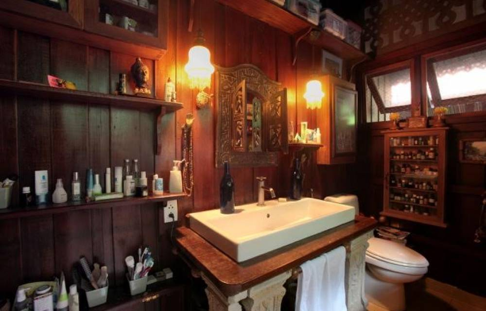 Bathroom in the main house