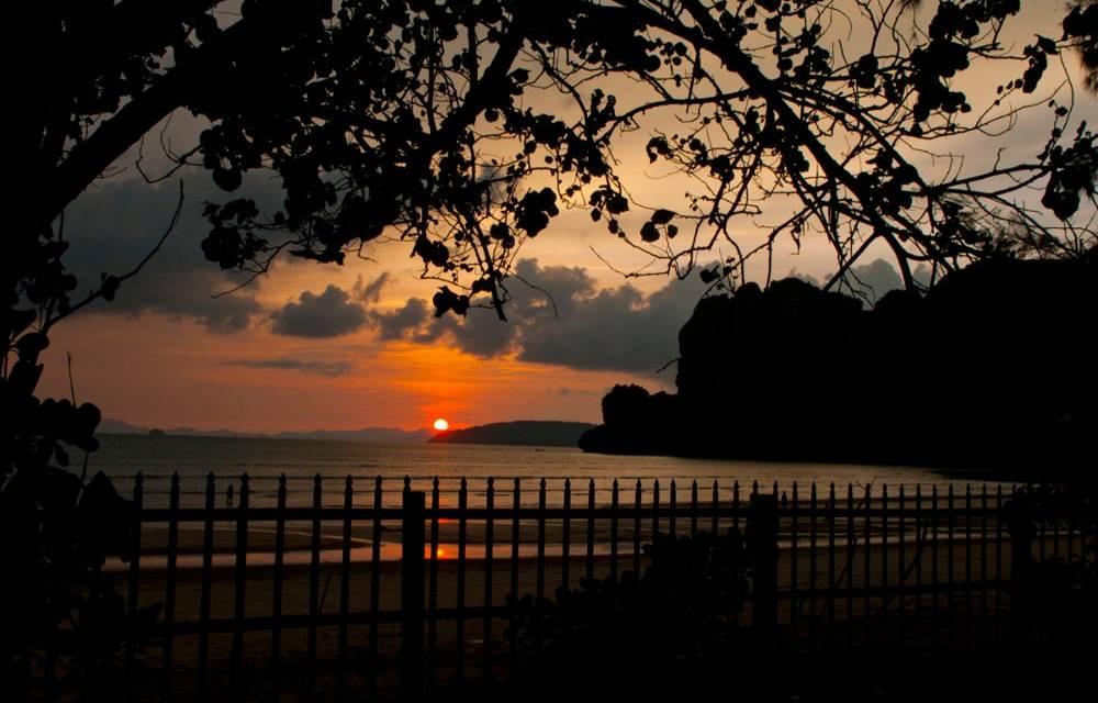 Sunset View from Baan Kintamani