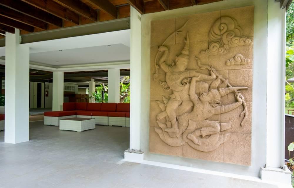 16. Khmer limestone